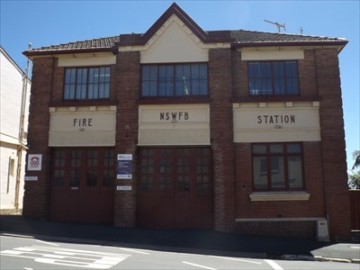 The ex-Fire Station of Katoomba, on Parke Street. 1428, Monday, 20 February, 2017