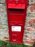 Image for Victorian Wall Post Box - Hoe Gate - Chichester - West Sussex - UK