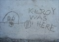 Image for Kilroy Was Here Sidewalk Graffiti  -  Avalon, CA