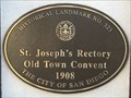Image for St. Joseph's Rectory Old Town Convent - San Diego, CA