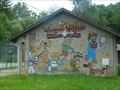Image for Murale du court de tennis-Senones-Vosges, Lorraine-France