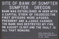 Image for Site of Bank of Sumpter