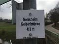 Image for Höhenmarke Geisenbrücke, Neresheim 493 Meter