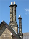 Image for Llangollen Station House Chimneys - Llangollen, Denbighshire, North Wales, UK