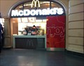 Image for Mc Donald's restaurant main station, Halle, Germany