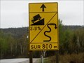 Image for Sign on Québec Labrador Highway Near Manic 2
