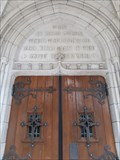 Image for Gen. 28:17, Ps. 100:4, Ps. 122:1, Eph. 3:21 - First Presbyterian Church of the Covenant, Erie, PA