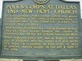 Image for Polk's Corps at Dallas and New Hope Church-GHM-110-20-Paulding Co.,Georgia