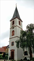 Image for Bell tower St. Martin Church - Hanhofen, Rh.-Pf., Germany