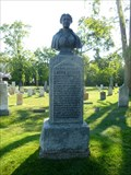 Image for Grave of Laura Secord, Heroine of the War of 1812 - Niagara Falls, ON, Canada