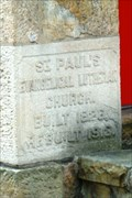 Image for 1826/1913 - Saint Paul Lutheran Church - Zelienople, Pennsylvania