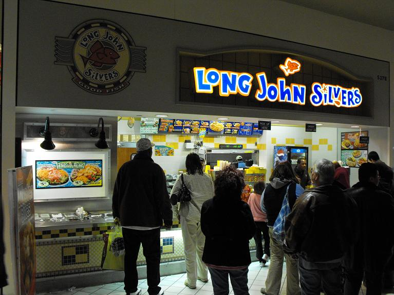 Long john silvers mall of america bloomington for Long john silver s fish and chips