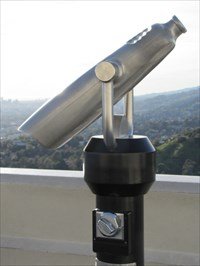 Binoculars, Griffith Observatory, Los Angeles, CA