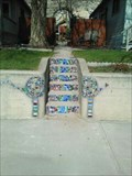 Image for Mosaic Wall and Stairs - Rock Springs WY