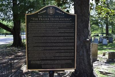 The Fraser Highlanders - Cheraw, SC, USA