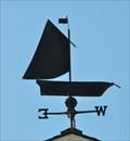 Image for Gull Cottage Sailing Skiff Weathervane