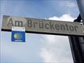 Image for Way Marker - Brückentor - Mayen, Rhineland-Palatinate, Germany
