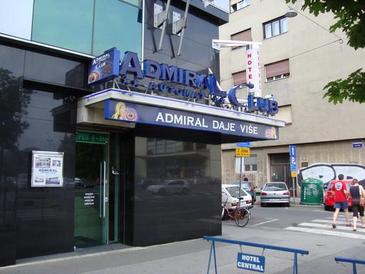 admiral club casino zagreb
