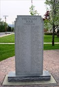 Image for Vietnam War Memorial, Veterans Memorial Plaza - Morgan, Utah USA