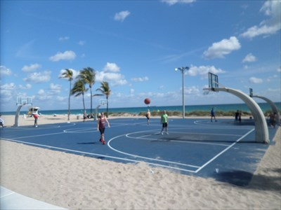 Ft Lauderdale Beach Park Basketball Courts Ft