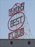 Image for Yukons Best Flour - Neon - Route 66, Yukon, Oklahoma, USA.