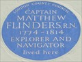 Image for Captain Matthew Flinders - Fitzroy Street, London, UK