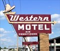 Image for Historic Route 66 - Western Motel - Bethany, Oklahoma, USA.