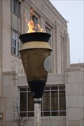 Image for Cleveland County Courthouse Eternal Flame - Norman, Oklahoma