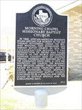 Image for Morning Chapel Missionary Baptist Church