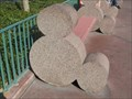 Image for Hidden Mickey Benches - Disneyland