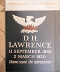 Image for D H Lawrence - Westminster Abbey, London, UK