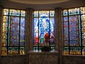 Image for Queen of Heaven Mausoleum stained glass - Hillside, IL