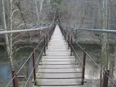 Absolutely not patapsco swinging bridge