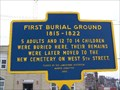 Image for First Burial Ground 1815-1822 - Jamestown, New York