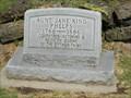 Image for 120 - Aunt Jane King Phelps - Ottawa Indian Cemetery - rural Ottawa County, Ok.