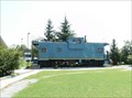 Image for C&O #903181 Blue Caboose - Manchester, TN