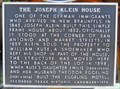 Image for The Joseph Klein House