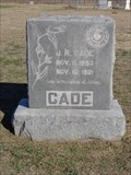 Image for J.R. Cade - Elizabeth Cemetery - Roanoke, TX