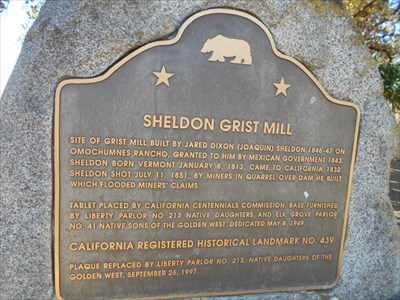 Sheldon was killed by squatters.  There is a town named for him within 35 miles.