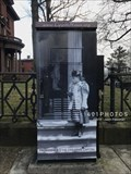 Image for Lippitt House Museum artistically decorated utility box - Providence, Rhode Island