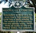 Image for Natchez City Cemetery- Natchez, MS