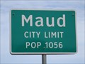 Image for Maud, TX - Population 1056