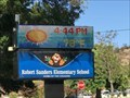 Image for Robert Sanders Elementary School Time and Temperature - San Jose, CA