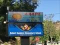 Image for Robert Sanders Elementary School Time and Temperature - San Jose, CA