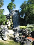 Image for Topiary Trail Waterfall - Cypress Gardens, FL