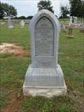 Image for Mrs. Missourie Bolton - Post Oak Cemetery - Glen Rose, TX.