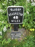Image for Grand Union Canalside mileage Marker