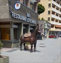 Image for Fiberglass Mule in Front of a Restaurant - Naters, VS, Switzerland