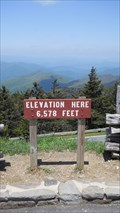 Image for Mount Mitchell Parking Lot, 6,578 Feet Mt. Mitchell, North Carolina