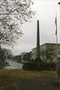 Image for Mexican-American War Monument - Lawrenceburg Commercial Historic District - Lawrenceburg, TN